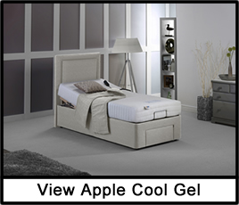 Apple Cool Gel Adjustable Bed