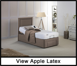 Apple Latex Adjustable Bed
